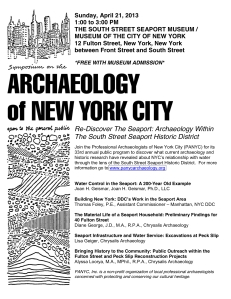 PANYC 2013 Public Event - Flyer